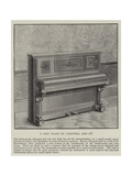 A New Piano by Chappell and Company Giclee Print
