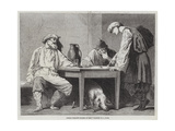 Russian Peasants Playing at Dice Wydruk giclee