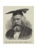 The Late Mr John Henry Parker Giclee Print