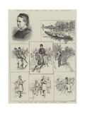 Sketches in the Life of Mr Fawcett Giclee Print