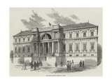The New Palais De Justice at Nantes - Giclee Baskı