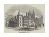 Burghley House, North Front Giclee Print