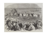 Quail-Catching in Syria Giclee Print