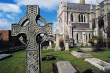 Cemetery at St Patrick's Cathedral, Dublin, Ireland, 12th Century Giclee Print