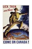 Come on Canada, World War II Propaganda Poster, Canada, 20th Century Giclee Print