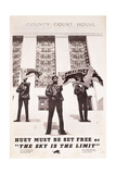 Huey Must Be Set Free or 'The Sky Is the Limit', C. 1970 Giclee Print