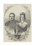 Victoria and Albert Giclee Print
