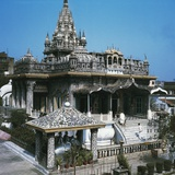 Pareshnath Temple, Kolkata, West Bengal, India Giclee Print