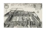 Trinity College, Cambridge, United Kingdom, 17th Century Giclee Print