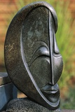 Stone Sculpture by Shona People, Harare Chapungu Krall, Zimbabwe Giclée-tryk