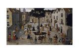 Maypole (Folk Festival), 16th Century Giclee Print