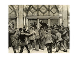 London, Picadilly, Socialist Agitation, February 8, 1886 Giclee Print