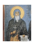Paintings of St. Anthony, Panagia Ties Asinou Church, Nikitart, Cyprus Giclee Print