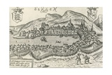 City of Bergen, 1580, Norway, 16th Century Giclee Print