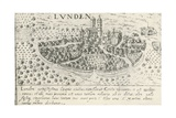 City of Lund, Which Belonged to Denmark in Middle Ages Giclee Print