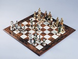 Chessboard with Chess Pieces, Chess, 20th Century Giclee Print