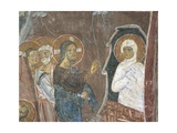 Fresco Depicting Resurrection of Lazarus, Early 12th Century Giclee Print