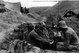 Italian and Romanian Troops at Stalingrad, 1942-43 Photographic Print