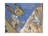 1192 Fresco Depicting Angel Giving Announcement to Shepherds Giclee Print