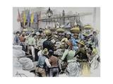 Market in Georgetown, Capital of Guyana, Guyana, 19th Century Giclee Print