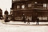 L'Horlogerie Du Pont Neuf, Rue De Rivoli, Paris, 1895 Photographic Print