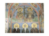 Fresco in a Church, Panagia Ties Asinou Church, Nikitart, Cyprus Giclee Print
