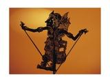 Puppet Theatre of Shadows (Wayang Kulit), Java, Indonesia Giclee Print