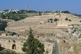 The Jewish Cemetery on the Mount of Olives, Jerusalem, Israel Photographic Print