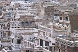 View of Buildings in Sanaa (Unesco World Heritage List, 1986), Yemen Photographic Print