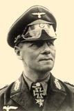 Portrait of General Erwin Rommel C.1942 Fotografisk trykk