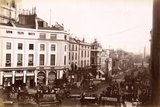 View from Piccadilly Circus Down Lower Regent Street, London, C.1885 Photographic Print