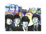 Beatles (1962-1970), English Rock Band Giclee Print