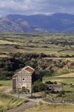 St Peter of Simbranos Church, 1113-1120, Bulzi, Sardinia, Italy Photographic Print
