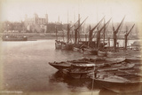 Tower of London from Horsleydown, London, C.1885 Photographic Print