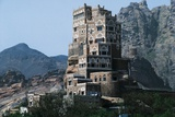 Dar Al-Hajar, Rock Palace at Wadi Dhar, Sana'A Governorate, Yemen Photographic Print