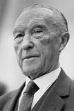 Portrait of Konrad Adenauer, 1960 Photographic Print
