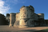 Old Ruins of a Castle, Castle of Caen, Caen, Normandy, France Photographic Print