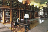 The Library of the Leopoldskorn Castle, Salzburg, Austria Photographic Print