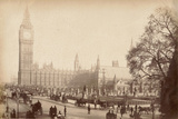 Houses of Parliament, London, C.1885 Photographic Print
