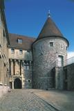 Entrance of a Castle, Dieppe, Normandy, France Photographic Print