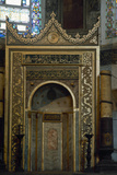 Turkey. Istanbul. Hagia Sophia. Mihrab, Pointing Towards Mecca Photographic Print
