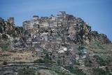 View of Al Hajjarah, Sana'A Governorate, Yemen Photographic Print