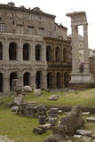 Italy, Rome, Theatre of Marcellus, 1st Century BC Photographic Print