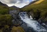 Glen Rosa Mountain Stream, Isle of Arran, North Ayrshire, Scotland, UK Photographic Print