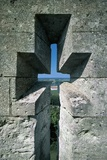 Close-Up of a Wall of a Castle, Robert Le Diable, Normandy, France Photographic Print