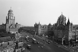 Victoria Terminus and Bmc Buildings, Mumbai, Maharashtra, India, 1982 Photographic Print