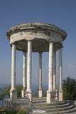 Gazebo Overlooking the Black Sea, Yalta, Crimea, Ukraine Photographic Print
