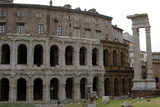 Italy, Rome, Theatre of Marcellus, 1st Century BC Photographic Print