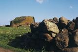 Nuraghe Losa, Near Abbasanta, Sardinia, Italy Photographic Print