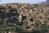 Village Along Road to Manakha, Sana'A Governorate, Yemen Photographic Print